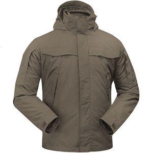 Vêtements de Charge à l'extérieur Homme Trois-In-One Hiver Gardez une vedette étanche Twinset Randonnée de camping Jacket tactique de chasse