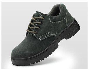 PP-Fashion بيع أحذية رجالية الصلب Baotou المضادة للأسلوب مكافحة ثقب السلامة أربعة موسم مكافحة الرائحة مكافحة الانزلاق العمل مقاومة للاهتراء