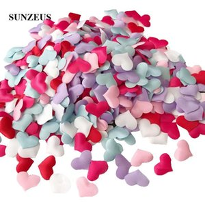 Other Accessories 2cm Small Heart Confetti Flower Petals 3D Sponge Wedding Marriage Bridal Accessory Party Decorations 1000pcs 1lot SJ012