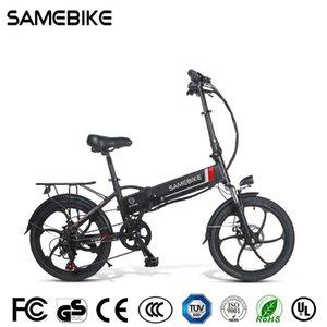 2021 Samebike 20LVXD30-II Vélo électrique pliant 32km / h Smart Bicycle Smart Bicycle 48V 10.4Ah Batterie 20 pouces TIRE EBIKE Aucun impôt mis à jour