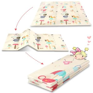 Portable Foldable Baby Play MatClimbing Pad Foam Picnic Blanket Indoor Outdoor Game Gym Activity Blanket Toys for Children