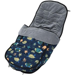 Stroller Parts & Accessories Baby Sleeping Bag Thickened Multi-purpose Foot Cover Cushion Swaddle