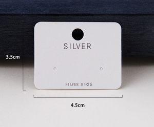 2021 paper fashion Earring card spot bracelet jewelry packaging high grade Necklace cardboard Korean PP06