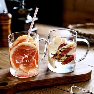 Wine Glasses INS Style Tea Juice Milk Glass Cup Coffee Mug Drink High Borosilicate Drinkware Durable Kitchen Tools