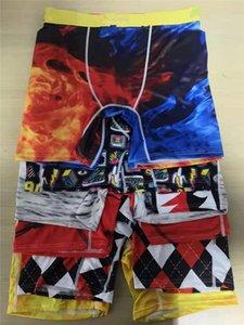 Promosyon! Rastgele Stiller erkek Külot Boxer Iç Çamaşırı Spor Hip Hop Kaya Tarım Iç Çamaşırı Sokak Moda Hızlı Kuru Külot