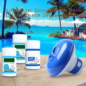 New Swimming Pool Floating Chlorine Cleaning Tablet Hot Tub Cleaner Effectively Protection LMH66