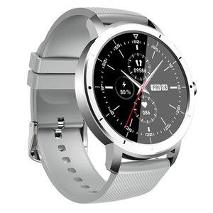 Тонкая мода 8,9 мм 1.32 дюйма HW21 Smart Watch Multi-Functal Reloj Intelligente Сердечное рисунок Мониторинг крови Мониторинг крови Рекордер Водонепроницаемый Спортивный Фитнес-трекер