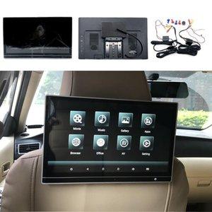 Video de automóviles 12.5 pulgadas reposacabezas con monitor para Macan Cayman Panamera Wagon Pantalla Android 9.0 Player WiFi TV