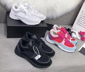2021 diseñador zapatillas de deporte de lujo hombres mujeres reflectantes zapatos casuales fiesta de terciopelo de becerro de becerro de becerro calidad superior calidad con caja