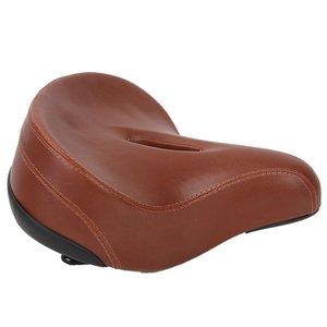 Bicicleta marrón ciclismo asiento asiento suave almohadilla cómoda esponja cojín bicicleta bicicleta asiento asiento accesorio de ciclismo