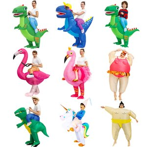 FactoryKWBFAlien HOT Party Anime Dinosaur mascot Inflatable costume suit disfraz Cosplay Halloween costumes For Adult kid