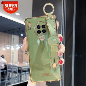 Suitable for Huawei mate30 mobile phone case women's all-inclusive lens 30pro suitcase silicone soft shell protective cover #cQ5G