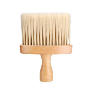 Neck Duster Brush Professional Soft Household Hair Wood Handle Cleaning Brushes Barber Salon Accessory Tool