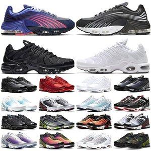 Nike air max tn plus 3 Кроссовки Мужские Женщины Северное Южное Сияние Морской Лес Углеродный Серый Белый Черный Красный Желтый Открытый Спортивные Кроссовки Онлайн