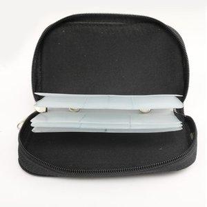 فتحات بطاقة الذاكرة حقيبة التخزين حقيبة تحمل محفظة حامل ل CF / SD / مايكرو SD / SDHC / MS / DS لعبة الملحقات مربع أكياس OOD5869