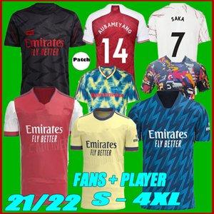 Größe S-4XL 2021 Arsen 424 Soccer Jersey 21 22 Odegaard Pepe Saka Thomas Wilian Nicolas Fourswofour Collection 4. Fußballshirts