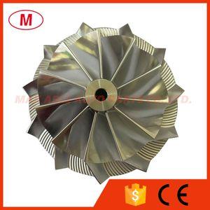 T04Z 70.30 94.00mm 11+0 blades Turbocharger Turbo Billet compressor wheel Aluminum 2618 Milling wheel for Racing Cartridge CHRA