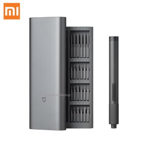 New Xiaomi Mijia Electric Precision Screwdriver Kit 2 Gear Torque Control 400 Screw 1 Type-C Rechargeable Magnetic Aluminum Case