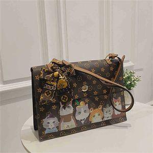 Children's Cartoon Small Square Bag One Shoulder Messenger Bags Kids Grils Printed Crossbody Pack Handbags Halloween One Shoulder Purse G967PBR