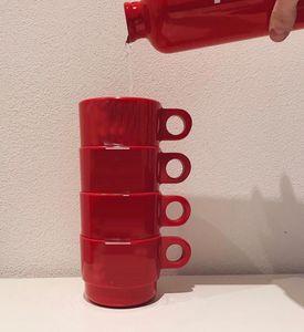 Tazze impilabili da collezione 4 pezzi / set tazza tazza di caffè # 268