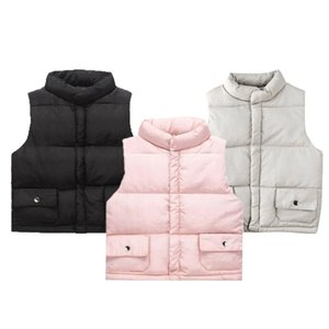 Vest 2021 Baby Autumn Clothing Girls Kid Jacket Vests Coat Fall Winter Warm Children Tops Suits Solid Clothes