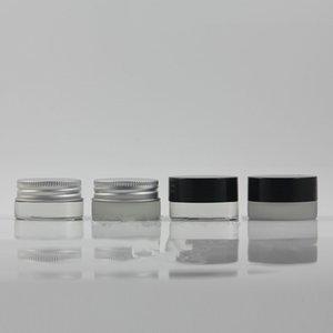 5g Traval Mini kleine Glasflasche Creme bilden Glas mit Aluminiumdeckel Kosmetikbehälter Verpackungsbox