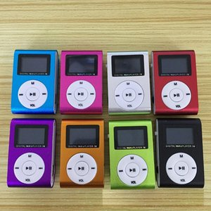 Digital Screen Metal Shell Mp3 Only Support Tf Card FM Radio Walkman Usb Charging Function Portable Clip Sports Music Player & MP4 Players