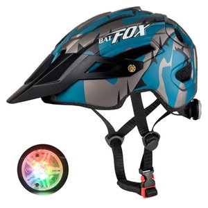 Cycling Helmets 2021 Racing Bicycle Helmet With Light In-mold MTB Road For Men Women Ultralight Sport Safety Equipment