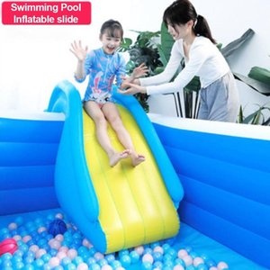 Pool & Accessories PVC Inflatable Water Slide Swimming Kids Play Recreation Facility Children Playground