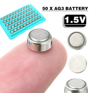 50 Pcs 1.5V AG3 Battery LR41 SR41 Lithium Button Cell For Small Electronic Devices Calculators Watch Toy