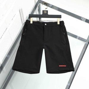 Mens Shorts luxury designer sport summer short fashion brand trend pure cotton breathable short-clothing lapel