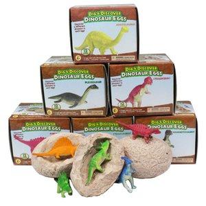 DIY ديناصور البيض لعب الجدة حفر الحفريات الحفر الاطفال تعلم حزب التعليمية مضحك هدايا لعبة لفتاة بوي