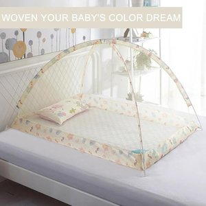 Crib Netting Baby Anti-mosquito Net Bottomless Mosquito Dustproof Windproof Bed Nets Free Dome Manual Operation Installation