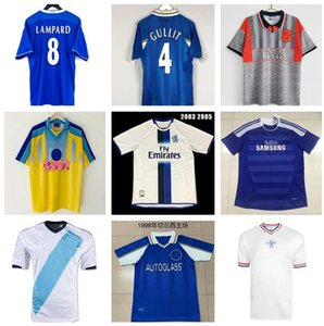 CFC Retro Soccer Jersey Lampard Torres Drogba 11 12 13 Final 94 95 96 97 98 99 Football Shirts Camiseta Crespo Wise 03 05 06 07 07 08 Cole Zola Vialli Gullit 1982 1980