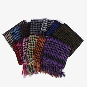 Winter Autumn Fashion Grid Large Square Scarf Children's Grils Warm Plaids Scarves Neck Head Pashmina Lady Shawls And Wraps Bandana Tassel H911GJK8