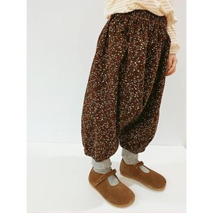 Trousers Imakokoni Japanese Nine-point Casual Pants Original Fashion Loose Harem Floral Spring And Autumn 20419