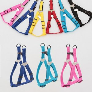 Dog Collars & Leashes Adjustable Soft Large Harness Collar Comfortable Pet Products Chest Straps For Small Medium Dogs Puppy