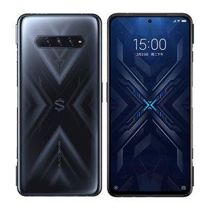 Original Xiaomi Black Shark 4 5G Mobile Phone Game 6GB RAM 128GB ROM Snapdragon 870 Android 6.67 inch AMOLED Full Screen 48MP AI Fingerprint ID Face NFC Smart Cellphone