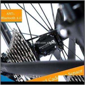 Computers 10Pcs Tcm10 Bike Speed Ip68 Ant Bluetooth Rpm Cycling Cadence Sensor Bicycle Computer Speedometer Dndun