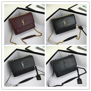 SAINT LAURENT Luxury Designer top quality Shoulder Bag tote woc Genuine Leather YSL fashion Women's men Crossbody Bags handbags Wallet Handbag free Purses caviar