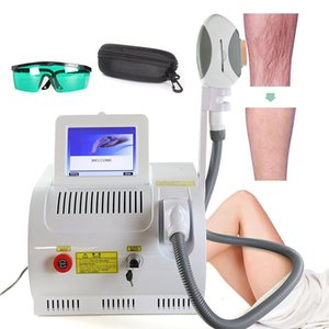 Portable SHR IPL Machine Permanent Hair Removal E light Beauty Device Skin Rejuvenation Pigment Age Spots Reduce Acne Treatment
