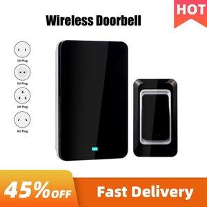 Wireless Smart Home Basebell 4 Plugs Impermeabile Electrical Chime Inteligente Ringbell Controllo remoto Anziani cercapersone porta campanelli campanelli