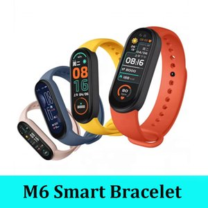 2021 M6 smart bracelet wristband waterproof sport band Call remind sleeping track smartwacthes with retail box