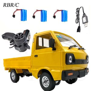 Electric RC CarOff road vehicle toy RBR   C naughty dragon d12y full proportion rear drive straight bridge climbing drift yellow truck remote control