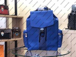 M30417 Outdoor Genuine Zaino Satchel Designer Borsa in pelle Canvas Uomo M30419 Viaggi bagagli Cowhide Eclipse Tote Spallacci BA TXBF