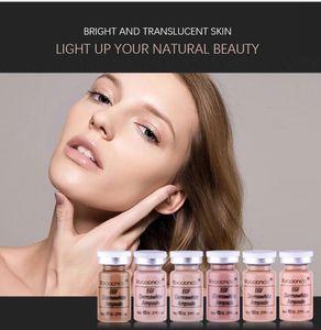 12Pcs Korean Cosmetics Stayve BB Cream Glow Ampoule Serum MesoWhite Brightening Serum For Whitening Acnes Anti-Aging Treatment