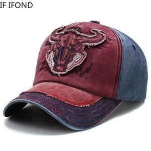 2021 Bonnet de baseball de coton en coton Best Snap Snapback Casquettes Chapeaux pour hommes camionneur mâle millésime broderie papa