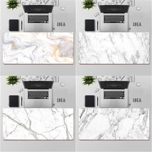 Mouse Pads & Wrist Rests FHNBLJ Top Quality Golden White Marble Laptop Computer Mousepad Large Pad Keyboards Mat