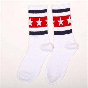 pairs of 3 girls sports socks medium-length cotton high-tube socks GCDS letter sockings 2021