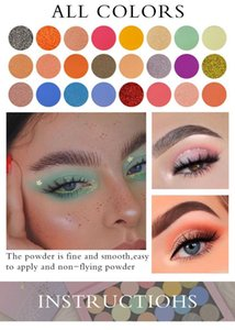 Colors Eye Shadow Palette Makeup Glitter Shimmer Pearlescent Matte Powder Eyeshadow Waterproof Cosmetics